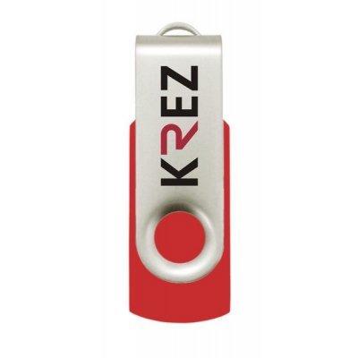все цены на USB накопитель  16Gb KREZ 401 USB 3.0 красный (3000258643209) (KREZ401U3R16) онлайн