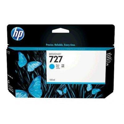 Картридж HP 727 голубой для HP Designjet T920/T1500 (B3P19A) (B3P19A)Картриджи для струйных аппаратов HP<br>струйный ePrinter series 130-ml<br>