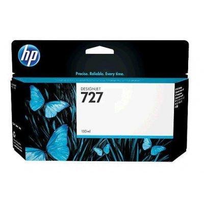 Картридж HP 727 черный матовый для HP Designjet T920/T1500 (B3P22A) (B3P22A) картридж hp pigment ink cartridge 727 matte black b3p22a