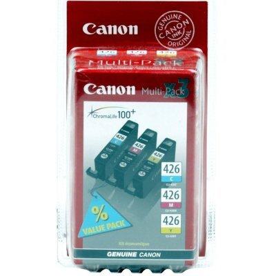 Картридж Canon CLI-426CMY 4557B006 голубой/пурпурный/желтый для iP4840/MG5140 (4557B006) (4557B006)Картриджи для струйных аппаратов Canon<br>струйный<br>