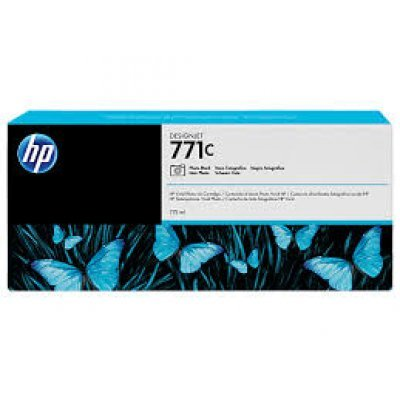 Картридж HP 771C черный матовый для HP Designjet Z6200 (B6Y07A) (B6Y07A)Картриджи для струйных аппаратов HP<br>струйный Printer series 775ml<br>