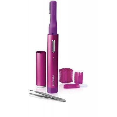 Триммер Philips HP6390/10 (HP6390/10)Женские бритвы Philips<br>для лица, работа от батареек, комплект: 3 насадки, щеточка, пинцет<br>