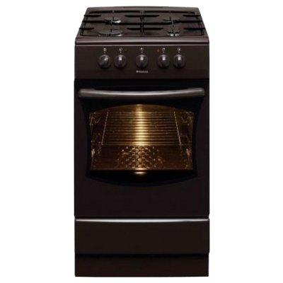 Комбинированная плита Hansa FCMB53020 (FCMB53020)Комбинированные плиты Hansa<br>газовая варочная поверхность (эмаль), духовка электрическая, электроподжиг, размеры (ШхГхВ): 50x60x85 см, цвет: коричневый<br>