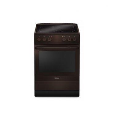 Электрическая плита Hansa FCCB63000 (FCCB63000)Электрические плиты Hansa<br>объем духовки 69л, гриль- электрический, ящик для посуды, ширина 60см<br>