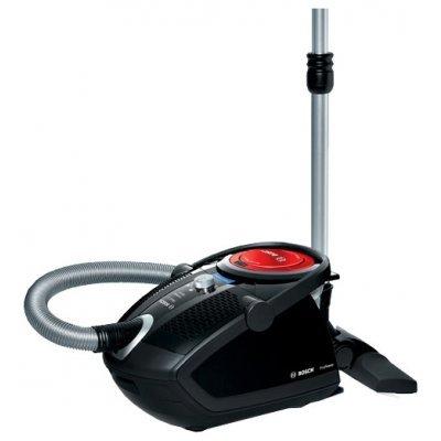 Пылесос Bosch BGS62530 черный (BGS62530)Пылесосы Bosch<br>сухая уборка<br>с циклонным фильтром<br>без мешка для сбора пыли<br>работа от сети<br>мощность всасывания 550 Вт<br>потребляемая мощность 2500 Вт<br>вес 8.5 кг<br>
