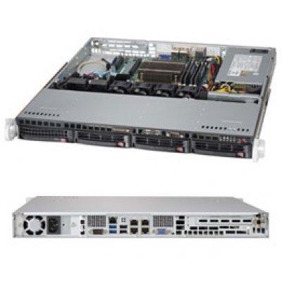 Серверная платформа Supermicro SYS-5018D-MTLN4F (SYS-5018D-MTLN4F)Серверные платформы SuperMicro<br>1U, SATA, Black<br>