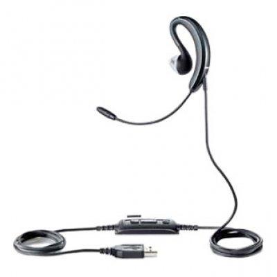 Гарнитура Jabra UC VOICE 250 Mono USB MS NC WB (2507-823-109)Компьютерные гарнитуры Jabra<br>односторонняя проводная  компьютерная гарнитура<br> со вставными наушниками (затычками) <br>крепление на ухе при помощи клипсы<br>встроенный регулятор громкости<br>микрофон с шумоподавлением<br>подключение через USB<br>