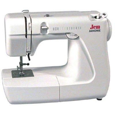 Швейная машина Janome Jem 639 (Jem 639)Швейные машины Janome<br>11 операций, цвет: белый<br>