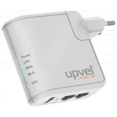 Маршрутизатор UR-312N4G (UR-312N4G)Маршрутизаторы UPVEL<br>Wi-Fi-точка доступа (роутер) стандарт Wi-Fi: 802.11n макс. скорость: 150 Мбит/с поддержка опционального 4G-модема поддержка VPN скорость портов 100 Мбит/сек принт-сервер: USB<br>
