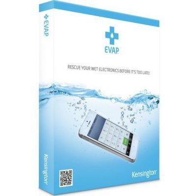 Комплект спасения для телефона/смартфона Kensington EVAP (K39723EU) (K39723EU)Комплекты спасения для телефонов Kensington<br>Как работает?<br>- Разместите Ваше попавшее в воду устройство вместе с двумя подушечками в специальный пакет Rescue Pouch , запечатайте, положите в теплое место, подождите от  6-ти до 24-х часов. <br>Когда индикатор влажности поменяет цвет, доставайте Ваше устройство.<br>Важно:<br>- Не дает 100% гарантии, что у ...<br>
