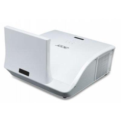 Проектор Acer U5313W (MR.JG111.001) (MR.JG111.001)Проекторы Acer<br>WXGA/DLP/Ultra Short Throw (0.35:1)/HDMI 1.4 3D/3100 Lm/10000:1/7000 Hrs/USB-mini B/HDMI/LAN/7 kg<br>