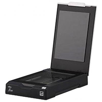 Сканер Fujitsu fi-65F (PA03595-B001)Сканеры Fujitsu<br>Паспортный планшетный сканер формата A6, разрешение 600 dpi, сенсор CIS, скорость сканирования в оттенках серого при 200 dpi - 1 сек, в цветном режиме при 150 dpi - 1,3 сек, интерфейс USB 2.0, вес 0.9 кг<br>