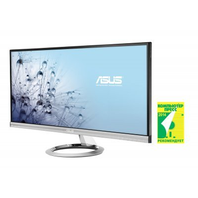 Монитор 29 Asus MX299Q Silver Black (MX299Q)Мониторы ASUS<br>AH-IPS LED, 2560x1080, 5ms, 300cd/m2, 80Mln:1, 178/178, DVI, HDMI, MHL, колонки Bang&amp;amp;Olufsen<br>