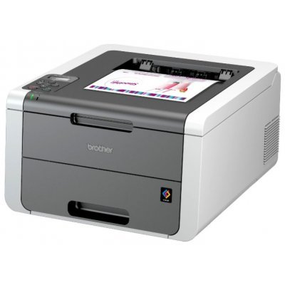 Принтер Brother HL-3140CW (HL3140CWR1)Цветные лазерные принтеры Brother<br>Принтер цветной светодиодный Brother HL-3140CW A4, 16/16стр/мин, 64Мб, USB, WiFi (замена HL-3040CN)<br>