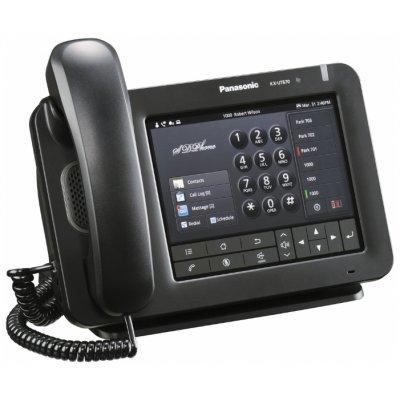 IP-телефон Panasonic KX-UT670RU чёрный (KX-UT670RU)