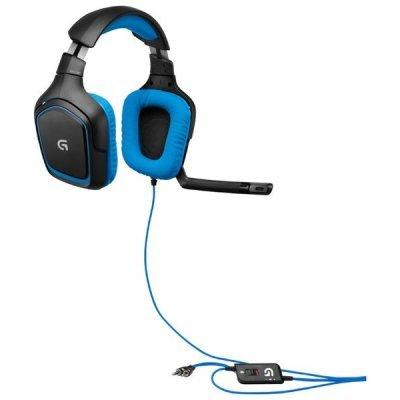 Компьютерная гарнитура Logitech G430 Surround Sound Gaming Headset (981-000537)Компьютерные гарнитуры Logitech<br>USB<br>