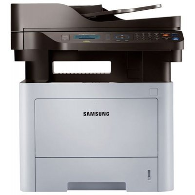 Лазерное МФУ Samsung SL-M4070FR (SL-M4070FR/XEV+1)Монохромные лазерные МФУ Samsung<br>Samsung SL-M4070FR МФУ (A4,1200x1200, P/C/S/F, 40ppm, 256Mb, USB 2.0/Ethernet/Duplex, 50-sheet ADF ,tray 250/50,WiFi)+ картридж MLT-D203S/SEE (SL-M4070FR/XEV+1)<br>