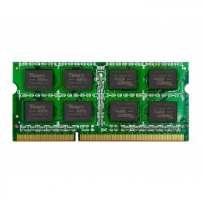 Модуль памяти 8Gb TEAM Elite DDR-III SO-DIMM 1333MHz CL9_9_9_24 (765441607149) (TED38GM1333C9-S01; TED38G1333C9-S01)Модули оперативной памяти ПК Team Group<br>204Pin Unbuffered SO-DIMM Non ECC<br>