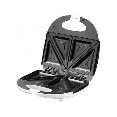 Сэндвичница Sinbo SSM-2520T (SSM-2520T)Сэндвичницы Sinbo<br>750 Вт, антипригарное покрытие, пластина типа треугольник, ненагревающийся корпус, индикация термостата<br>