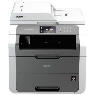 Светодиодное МФУ Brother DCP-9020СDW (DCP9020CDWR1)Цветные лазерные МФУ Brother<br>цветное, принтер/сканер/копир, A4, 18стр/мин, дуплекс, ADF, 192Мб, USB, LAN, WiFi (замена DCP-9010CN)<br>