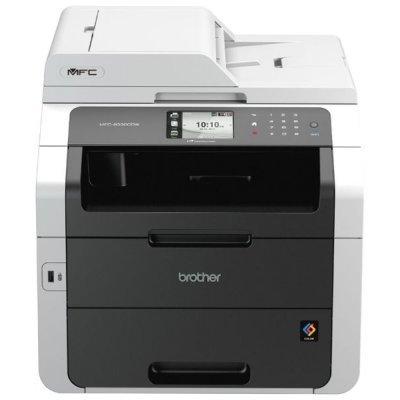 Светодиодное МФУ Brother MFC-9330CDW (MFC9330CDWR1)Цветные лазерные МФУ Brother<br>Цветное, A4, принтер/копир/сканер/факс/сеть, 22/22стр/мин<br>