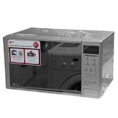 Микроволновая печь LG MS-20R44DAR (MS20R44DAR)Микроволновые печи LG<br>Размер упаковки  500 x 350 x 300 мм, вес 12 кг, Автоматическое размораживание, Максимальная мощность микроволн, Вт 800<br>