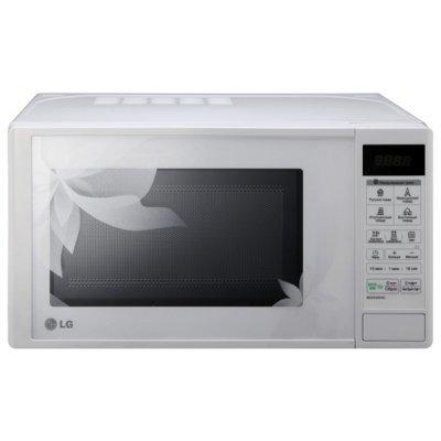 Микроволновая печь LG MS-2043DAC (MS2043DAC)Микроволновые печи LG<br>соло (без гриля и конвекции), объем 20 л, мощность микроволн 700 Вт, электронное управление, автоматические режимы: разморозка, приготовление<br>