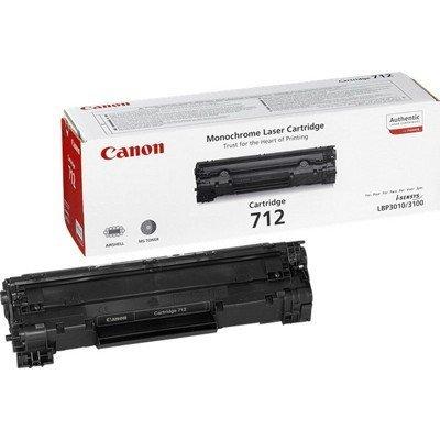 Картридж (1870B002) Canon 712 (1870B002)Тонер-картриджи для лазерных аппаратов Canon<br>Картридж 712 для принтеров LBP-3010. Ресурс: 1500 страниц<br>