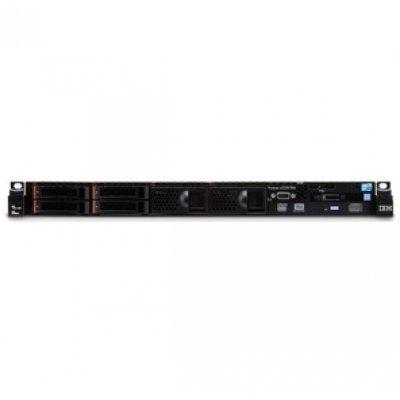 Сервер IBM x3550 Express M4 (7914J3G) (7914J3G)Серверы IBM<br>Rack (1U)/1xXeon 10C E5-2670v2 (115W/2.5GHz/1866MHz/25MB)/1x8GB, 1.5V, 14900 RDIMM/noHDD 2.5 HS SAS/SATA (up4)/SR M5110 (1GB flash+raid 0/1/10/5/50)/noDVD/4xGbE/1x550W PS (up2)<br>