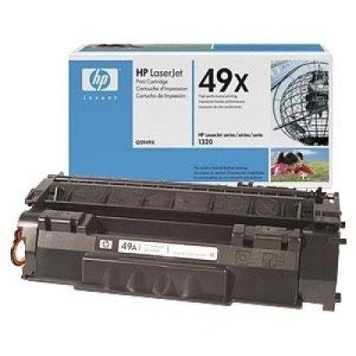 Картридж HP (Q5949X) для принтеров HP LaserJet 1320 (6000 стр) (Q5949X)Тонер-картриджи для лазерных аппаратов HP<br>Подходит к НР LJ 1160 (Q5933A) /1320<br>