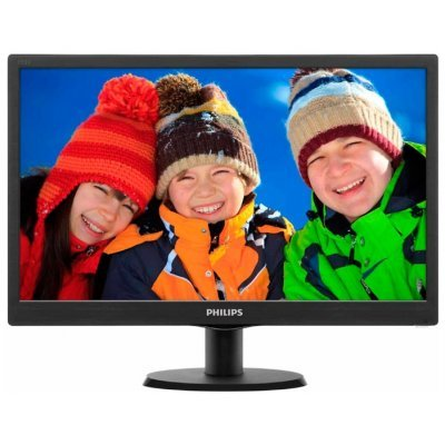 Монитор Philips 18.5 193V5LSB2 (193V5LSB2 (10/62)) монитор aoc 21 5 g2260vwq6 g2260vwq6