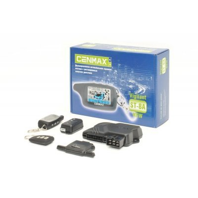 Автосигнализация Cenmax Vigilant ST-8A (VIGILANT ST-8A)Автосигнализации Cenmax<br><br>