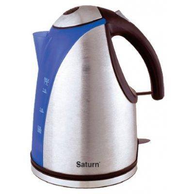 Электрический чайник Saturn ST-EK 0017 металл (ST-EK 0017)Электрические чайники Saturn <br>1,7л, STRIX<br>