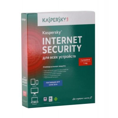 Антивирус Kaspersky Internet Security Multi-Device Russian Edition. 5-Device 1 year Base Box (KL1941RBEFS) eset nod32 антивирус platinum edition 3 пк 2 года