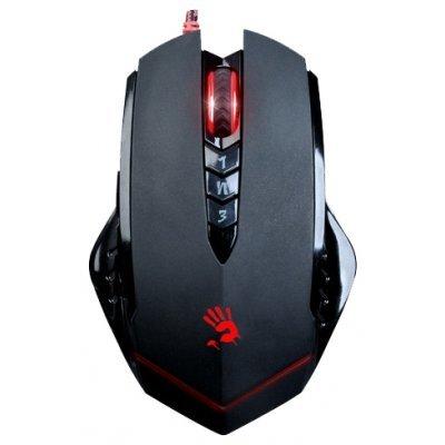 Мышь A4 Tech Bloody V8 черный (Bloody V8 black)Мыши A4-Tech<br>Gaming mouse USB<br>