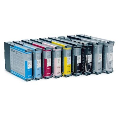 Картридж (C13T543400) EPSON  для Stylus Pro 7600/9600 желтый (C13T543400)Картриджи для струйных аппаратов Epson<br>(110 мл)<br>