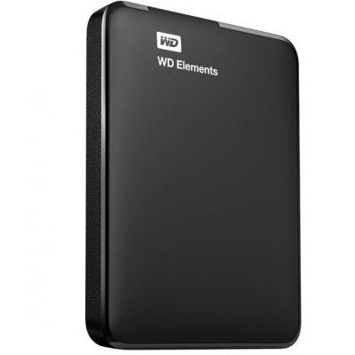 Внешний жесткий диск Western Digital 500Gb Elements WDBUZG5000ABK-EESN черный (WDBUZG5000ABK-EESN)Внешние жесткие диски Western Digital<br>2.5, USB 3.0<br>