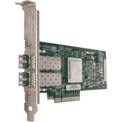 Контроллер Fibre Channel Dell QLogic 2562 (406-10695) (406-10695)Контроллеры Fibre Channel Dell<br>двухпортовый 8Gb Fibre Channel HBA - комплект<br>