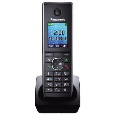 Радиотелефон Panasonic KX-TGA855 черный (KX-TGA855RUB)Радиотелефоны Panasonic<br>к телефонам серии KX-TG85хx<br>