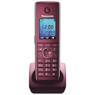 Радиотелефон Panasonic KX-TGA855 красный (KX-TGA855RUR)Радиотелефоны Panasonic<br>трубка к телефонам серии KX-TG85хx<br>