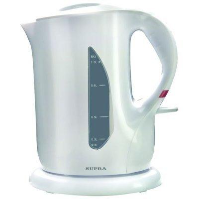 Электрический чайник Supra KES-1001 белый (KES-1001) электрический чайник supra kes 2008 kes 2008