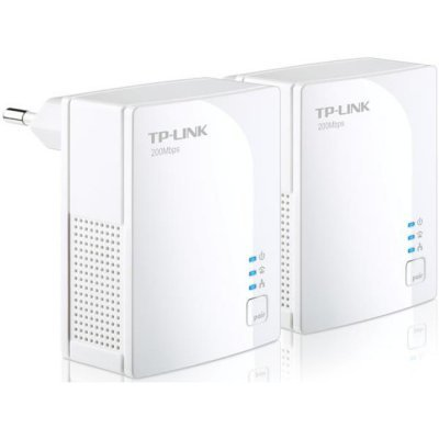 Powerline адаптер TP-link TL-PA2010KIT (TL-PA2010KIT)Powerline адаптеры TP-link<br>AV200 Nano Powerline Ethernet Adapter, Ultra Compact Size, 200Mbps Powerline Datarate,  100Mbps Fast Ethernet, HomePlug AV, Green Powerline,  Plug and Play, Twin Pack<br>