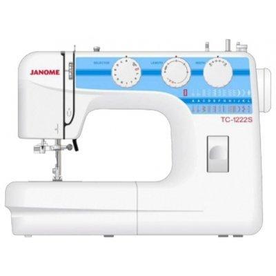 Швейная машина Janome TC-1222s (JANOME TC-1222s)  швейная машина janome tc 1222s белый [tc 1222s]