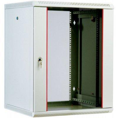 Шкаф ЦМО телекоммуникационный настенный разборный 12U (600х650) дверь стекло [ ШРН-М-12.650 ] (ШРН-М-12.650) шкаф изотта 23к дверь правая ангстрем