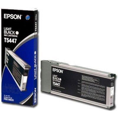 Картридж (C13T544700) EPSON Stylus Pro 9600 серый (C13T544700)Картриджи для струйных аппаратов Epson<br>(220 мл)<br>