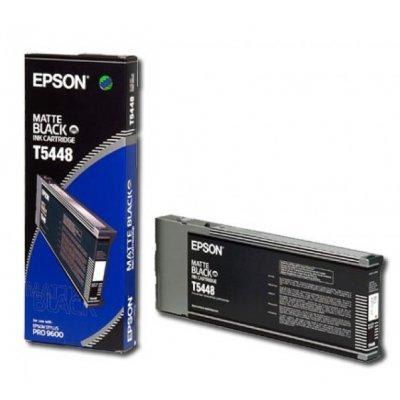 Картридж (C13T544800) EPSON Stylus Pro 9600 матово черный (C13T544800)Картриджи для струйных аппаратов Epson<br>(220 мл)<br>