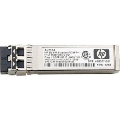 Трансивер HP 8Gb Short Wave Transceiver Kit 4 Pk (C8R23A) (C8R23A) трансивер hp mds 9000 8gb fc sfp short range xcvr aj906a