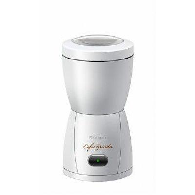 Кофемолка Rolsen RCG-150 белый (RCG-150WHITE)Кофемолки Rolsen<br>Истинные ценители настоящего кофе уже давно выбрали для помола зерен новую кофемолку Rolsen RCG-150. Она стала для гурманов кофе настоящим подарком.  Эта модель  радует  удобством и легкостью в использовании<br>