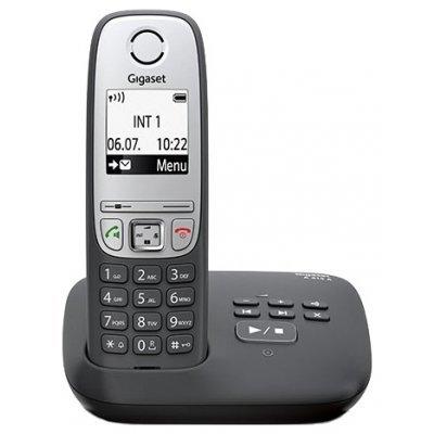 Радиотелефон Gigaset A415 A черный (A415 AM) gigaset a415 trio black