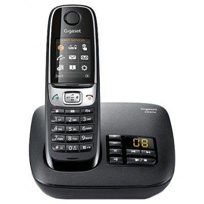Радиотелефон Gigaset C620 A черный (C620A) gigaset gigaset c620